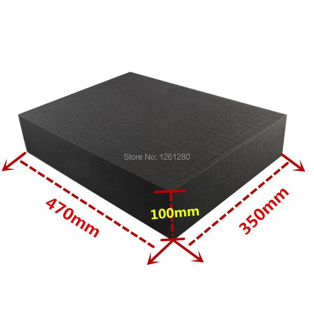 цены free shipping 47*35*10 DIY Multifunction Toolbox shockproof sponge padding customized square grid sponge handlmade tool box part