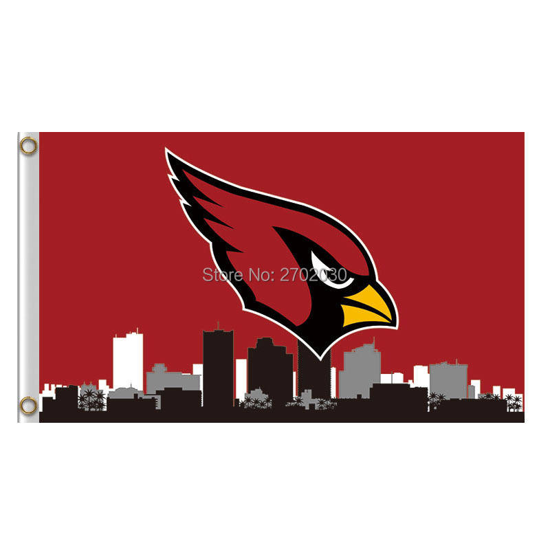 Arizona Cardinals Country City Flag Red World Series Football Team Banner Super Bowl Champions Arizona Cardinals Banner Flag