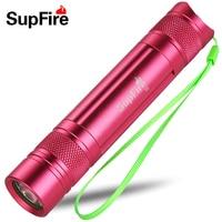 Supfire S5 R5 450LM 200m USB Charge Mini LED Flashlight By 18650 Battery