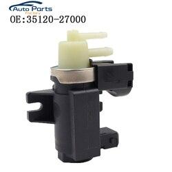 Per Kia Sorento 03-09 Hyundai Starex H1 Vuoto Turbo Boost Convertitore di Pressione Valvola Solenoide 35120-27000 3512027000