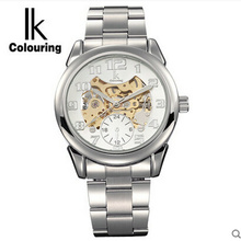 Ik for men's watch personality revealed at fully-automatic mechanical watch fashion male watch