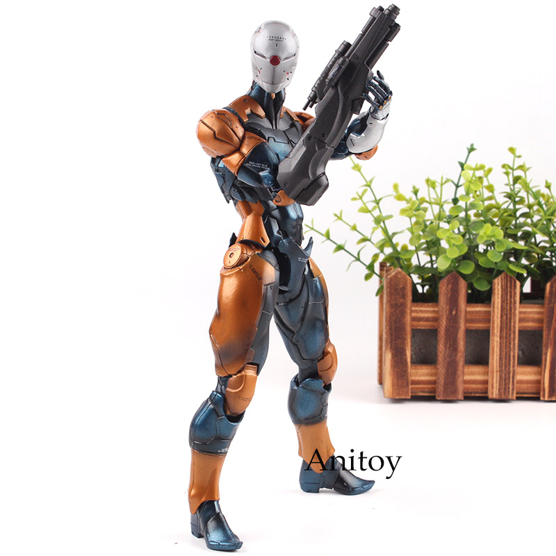 Hot Toys Metal Gear Solid Cyborg Ninja Gray Fox Figure Tactical Espionage Action PVC Play Arts Kai Figurines Collection Toys