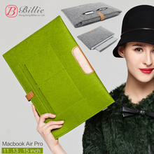 Billie Notebook Sleeve Bag Case Laptop bags For MacBook Air / Pro 11 12 13 15 inch Laptop Anti-scratch Cover For Mac book 13.3""