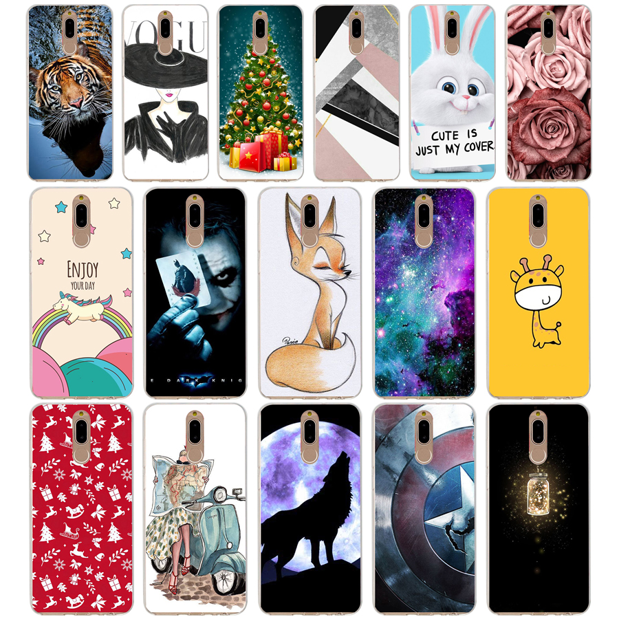 T Case Cover For Huawei Nova 2i Soft Silicone TPU Cool Patterned Painting For Huawei Nova2i Phone Cases
