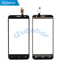 100% Garantie black Touch screen Digitizer voor glas Voor Alcatel One Touch Idol 2 Mini 6016 OT-6016E door gratis verzending(China)