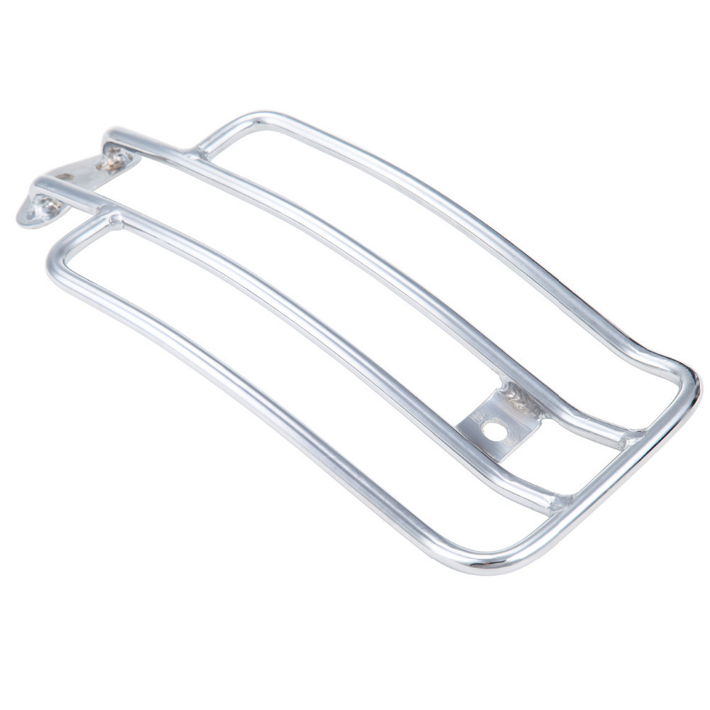 Steel Chrome Luggage Rack For Harley Davidson 1985 - 2003 XL Sportster 883 1200 with Stock Solo Seat Free Shipping motorcycle solo seat luggage rack suitable for harley davidson sportster xl883 1200 xl48 silver
