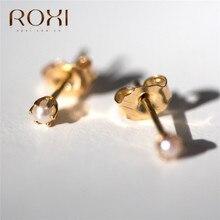 ROXI Classic Round Pearl Earrings for Women Girl Gifts Ear Cartilage Tragus Helix Barbell Earings Piercing Jewelry Stud Earrings