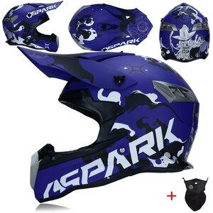 Image 3 - Yeni tasarım motosiklet koruyucu dişliler kir bisiklet yarışı Motocross kaskları kros motosiklet kask motokros