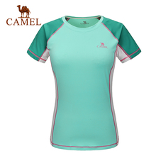 2016 Camel lovers design t-shirts outdoor quick-drying o-neck short-sleeve T-shirt breathable quick-drying t-shirt A6S209133