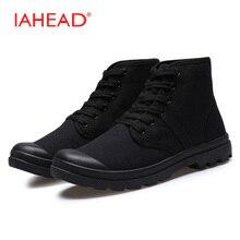 Высокая парусиновая обувь для хип-хопа Для мужчин рабочие ботинки Резиновая дышащая зимняя обувь Для мужчин ковбойские ботинки Для мужчин S Botas Hombre MH521