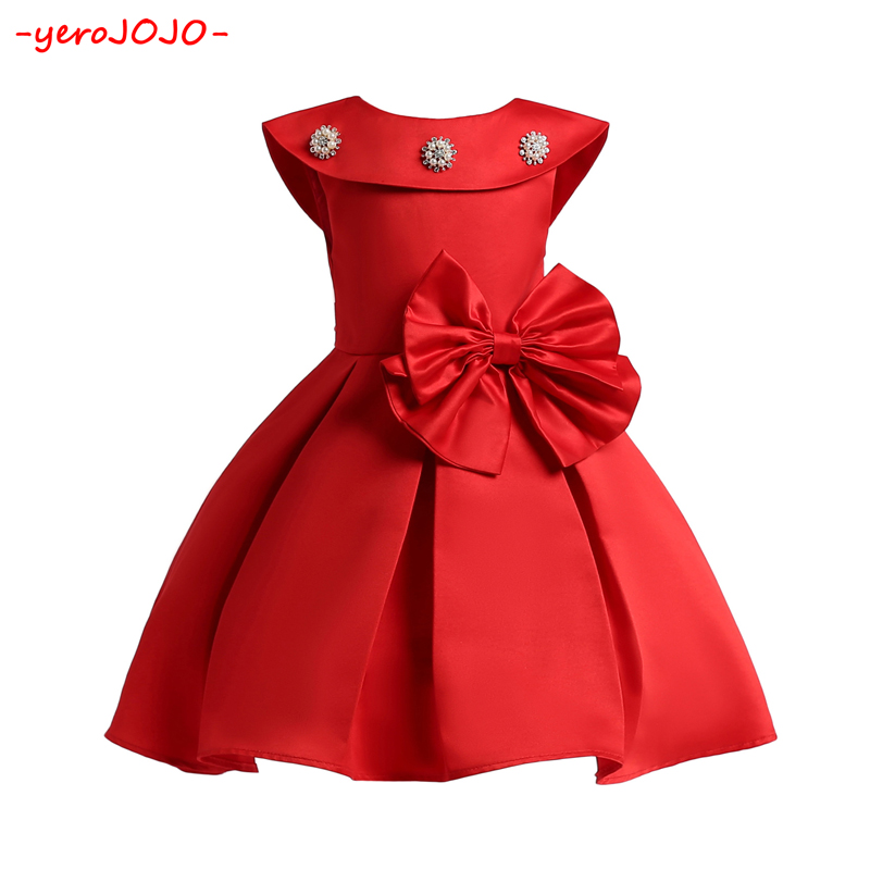 New 2018 Fashion Girls Dresses 3-10 Years Children Wedding Party Dresses Kids Evening Ball Gowns Formal Baby Frocks Clothes