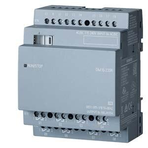 Original SIMATIC 6ED1055-1FB10-0BA2 LOGO! DM16 230R, EXP. MODULE, PU/I/O: 230V/230V/RELAIS, 4TE, 8 DI/8 DO NEW 6ED10551FB100BA2 2 10 8 10 1 6 50010