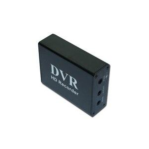 Image 5 - Новый 1CH Мини DVR CVBS запись, 1 канал CCTV монитор Поддержка нескольких режимов записи SD карта записи DVR Черный