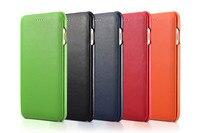 Brand Icarer Original Luxury Genuine Leather Flip Case Cover For Iphone 7 Plus 8 Plus Luxurious