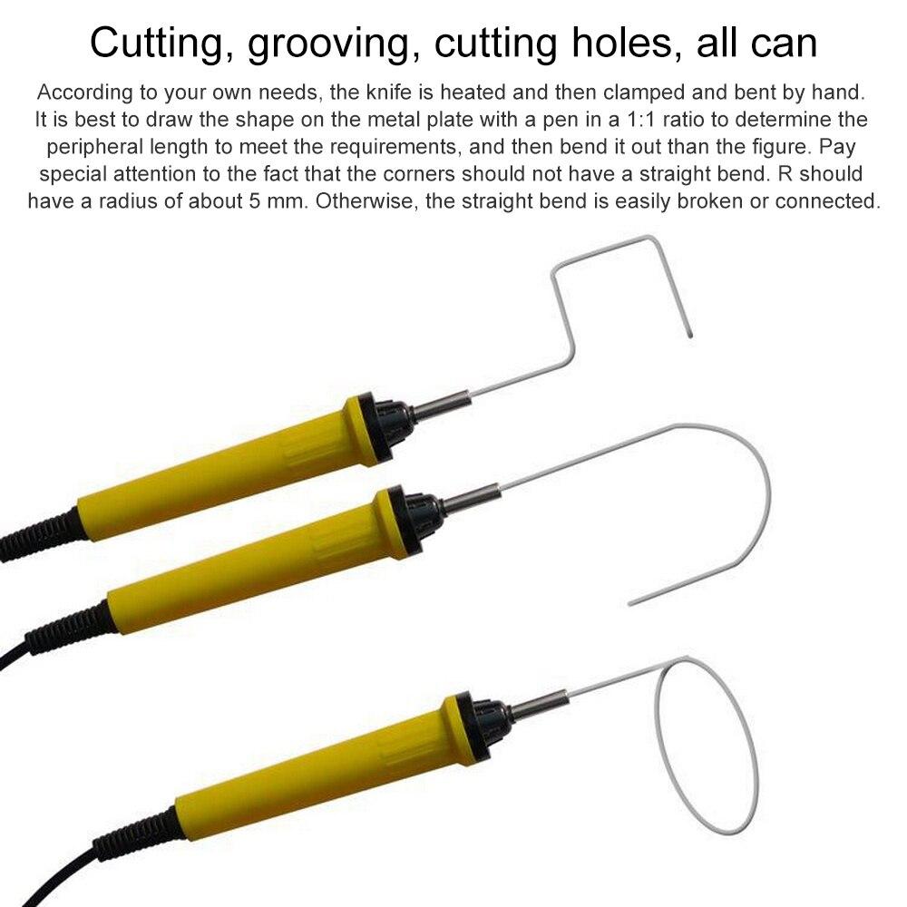 15W polystyrène mousse Cutter 110 V-240 V électrique styromousse coupe machines-outils Portable styromousse Cutter taglia polistirolo