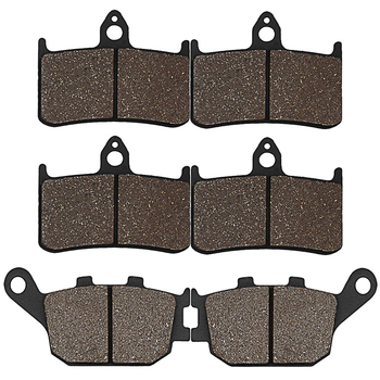 Cyleto Motorcycle Front and Rear Brake Pads for HONDA CBR900RR CBR 900RR 900 RR Fireblade 1992 1993 1994 1995 1996 1997