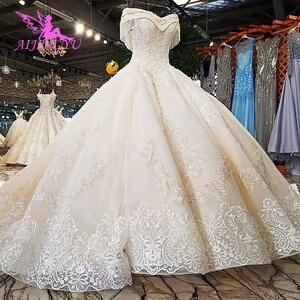 Image 5 - AIJINGYU królowa suknia ślubna księżniczka suknie balowe suknie muzułmańskie z długim rękawem nowa suknia wieczór panieński