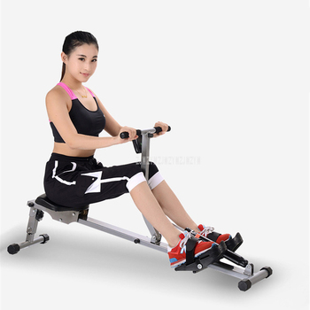 Foldabe Row Machine Abdominal Pectoral Arm Fitness Training Stamina Body Glider Rowing Indoor Home GYM Exercise Equipment