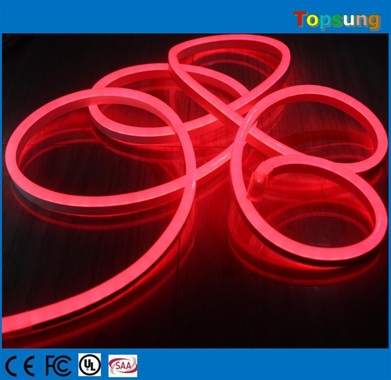 20 50 м песочные часы мини гибкие светодиодные Neo N полосы света 8x16 мм Soft Tube Neo n flex красный 120 В 240 В для украшения дома