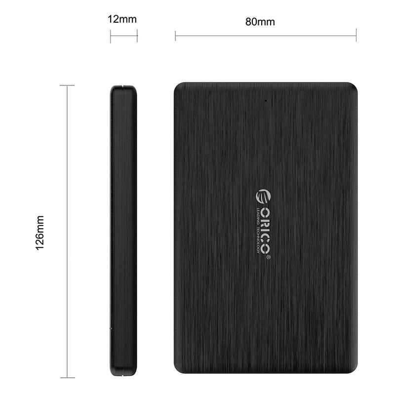 ORICO 2578U3 2,5-дюймовый SSD-корпус USB3.0 Micro B - Внешнее хранилище - Фотография 6