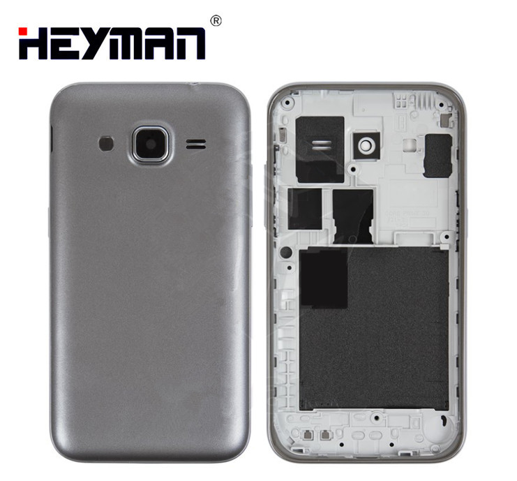 competitive price 65b07 7eca2 US $4.0 |Housing for Samsung G360H/DS G360M/DS Galaxy Core Prime 4G Middle  Rear Housing Bezel Holder Frame Back Cover battery Case door -in Mobile ...