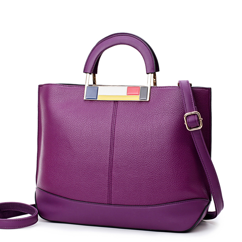 ETONWEAG 2018 New Fashion Quality Leather Women Handbags Street Shopping Tote Bag Metal Top-handle Famous Designer CC Cat Bag
