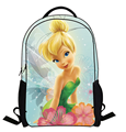 16-Inch Mochila Escolar Teenage Girls Bags Children Backpack Tinker Bell Fairies Print Kids Cartoon School Bags