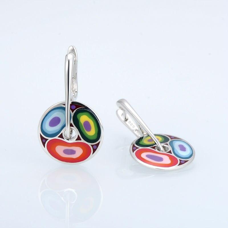 E303611ENA4SL925-SV5-Silver Earrings
