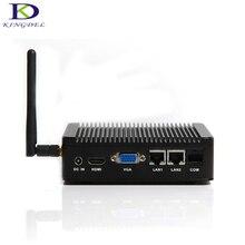 Лучшая цена micro pc intel celeron j1900 quad core hdmi ddr3l ram + msata ssd dual lan mini pc htpc