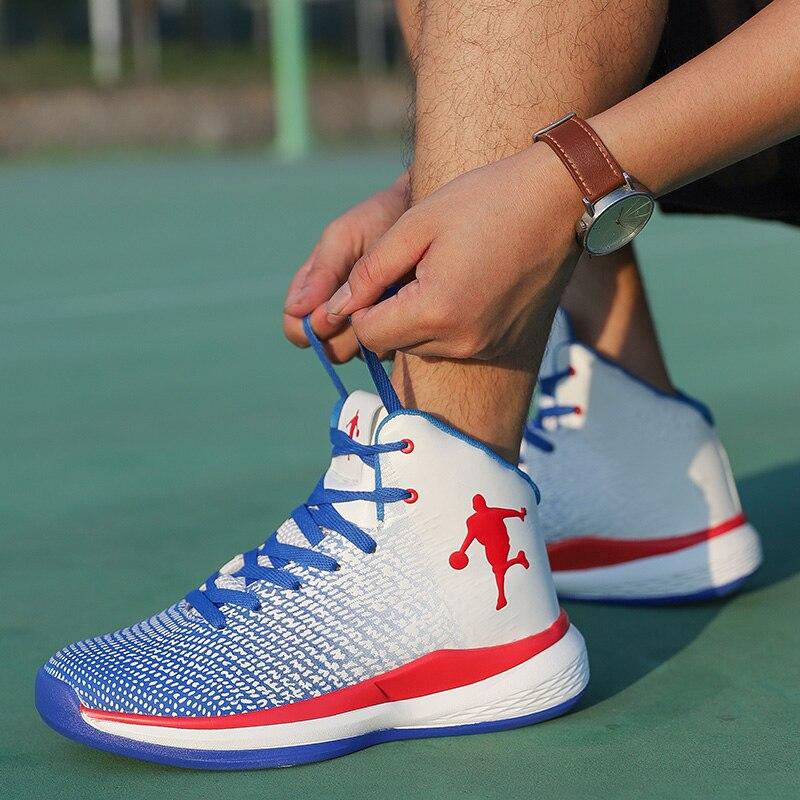 Sapatos de Alta-top Respirável Livre Formadores Homem Almofada