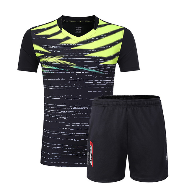 Badminton Team Jersey + shorts,Men/Women Tennis clothes sets,Table Tennis wear Shirt,Tennis/table tennis clothes t-shirt suit