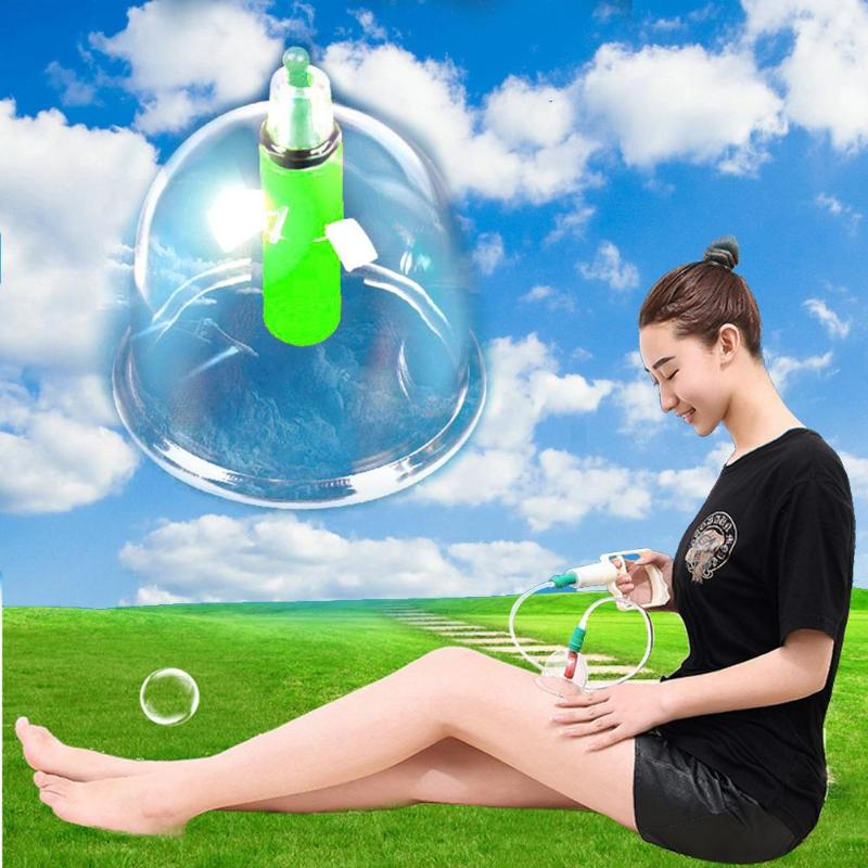 12 PCS Cupping Set Medical Vacuum Cans Body Massager Anti Cellulite Suction Cupping Cups Medical Therapy Massage