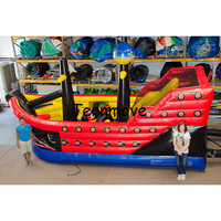 inflatable playground Pirate Ship Bouncy Castle Bouncer Inflatable Castle Kids Baby ,Inflatable trampolin jumping bed
