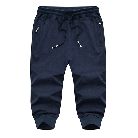 TACVASEN Sweatpants Sports Shorts For Men Gym Shorts With Pockets Sports Trousers Male Training Exercise Shorts Sportswear Multan