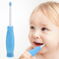 Hot Silicone Rechargeable Sonic Electric Toothbrush for Children USB Charging Tooth Brush Waterproof Deep Clean Whitening Z30