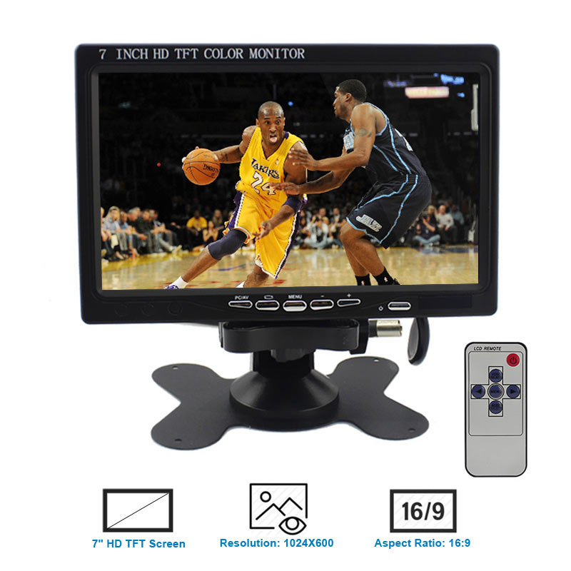 Elecrow Display Raspberry Pi 3 7 inch LCD Monitor With HDMI Screen 1024x600 TFT Display for
