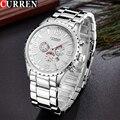Original New CURREN Luxury Relogio Masculino Casual Brand Orologio Date Men Sports Reloj Military Stainless Quartz Watch 8056