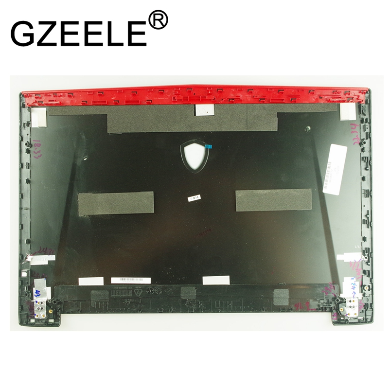 GZEELE New laptop LCD SCREEN LID BACK COVER FOR MSI GT72 1781 1782 GT72S GT72VR MS-1781A MS-1781 LCD Rear Lid Cover top shell new 13 4 slim led lcd screen n134b6 l04 ltn134at01 fit for msi x340 350 laptop