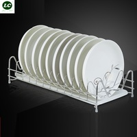 Home Storage Organization Storage Holders Racks 304 Stainless Steel Kitchen Rack Dish Plates Rack