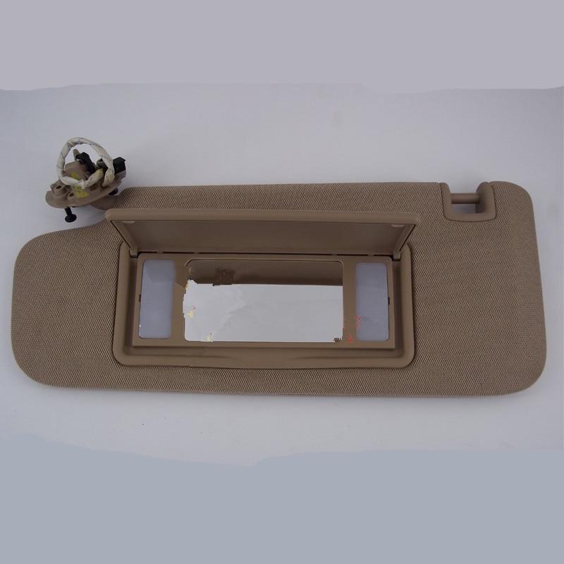 Original Overhead Console Interior Sunvisor With Light & Mirror For Chevrolet Cruze 2009 10 11 12 13 14 15 ADB019