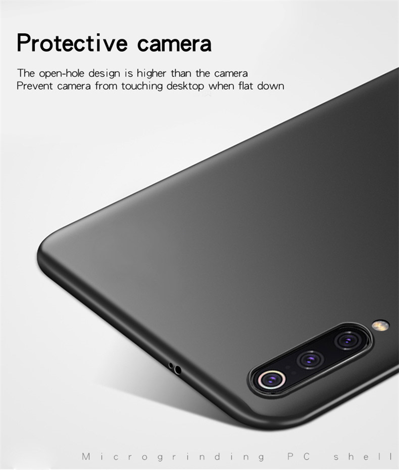 For Xiaomi Mi 9 Case Thin PC Shell Bumper Protective Hard Back Phone Cover For Xiaomi Mi 9 Style Phone Case For Xiaomi Mi 9 in Fitted Cases from Cellphones Telecommunications