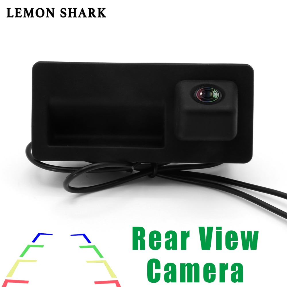 RCD330 Plus MIB AV Rear View Camera With Handle HD Wide Angle Rearview Parking Car Reverse For VW TIGUAN Passat B6 B7 Golf 5 /6|Vehicle Camera| |  - title=