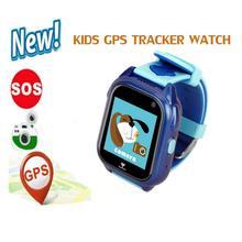 Relógio inteligente Crianças Touch Screen Câmera GPS Conversa Longa Espera Rastreador Criança Menino Menina Real-Time Monitor de Segurança de Posicionamento