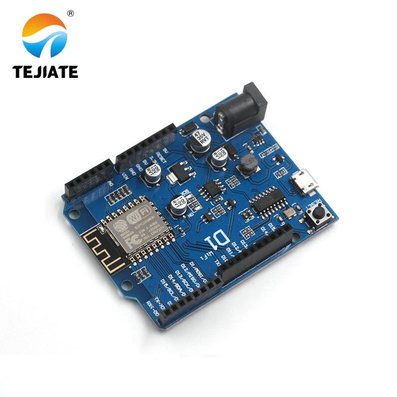 OTA WeMos D1 CH340 CH340G WiFi Development Board ESP8266 ESP-12F ESP-12E Module IDE UNO R3 Micro USB ONE 3.3v 5v 1A