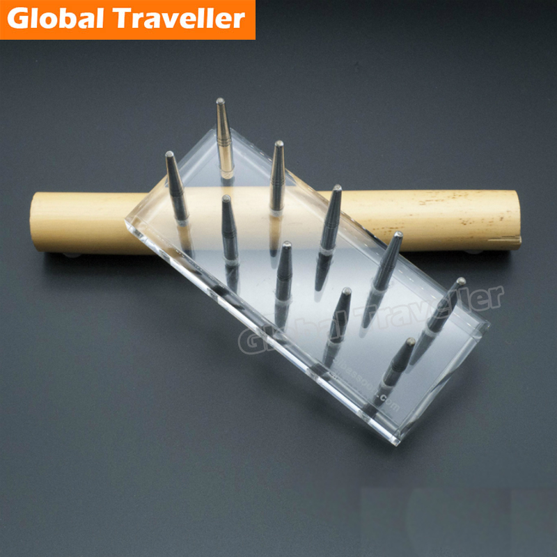 1 piece Bassoon reeds making acrylic pad board bassoon reeds Stereotypes pad styling plate Bassoon Reeds Manufacturing Tool beautiful wooden bassoon reeds case hold 10 pcs reeds strong