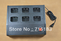 Six Way Charger Multicharger Can Be Charged With Li Ion And Ni MH Battery Both For