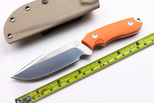 NEWTactical K Sheathe Hunting Bolte Fixed Blade Knife D2 Orange G10 Handle Camping Utility Knife Survival EDC Tools Best Quality