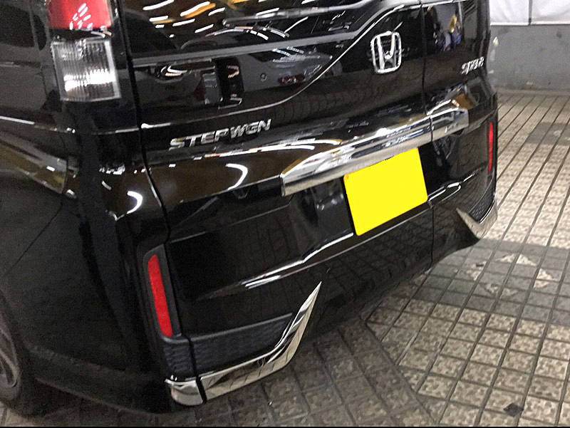 JY 4PCS Chrome ABS Rear LampTaillights Lower Trim Accessories Car Styling Cover For Honda STEPWGN RP1/4 2015