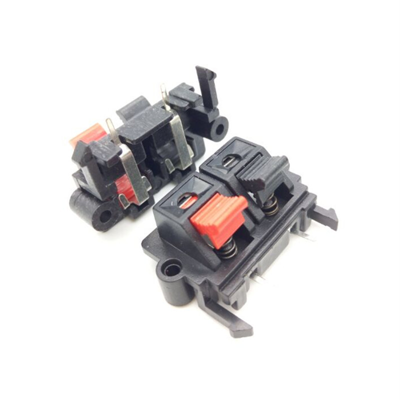WP2-19 box connection clamp pin spring connection seat stereo clip single row 2 old aging test clip