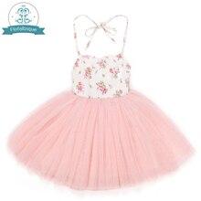 4 camadas de tule grelhas vestidos com vintage floral bonito doce festa de verão casamento especial occasi princesa para roupas de criança